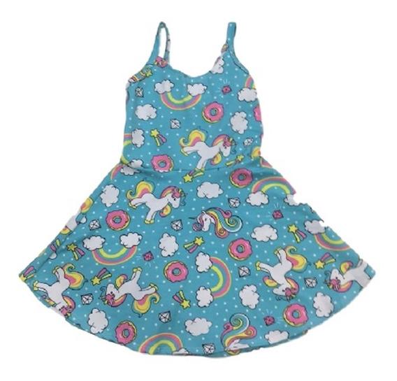 08 Vestido Infantil Menina Estampados Roupas Atacado