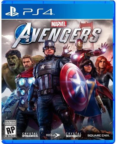 Imagen 1 de 3 de Marvel Avengers Ps4 Juego Fisico Sellado Nuevo Sevengamer