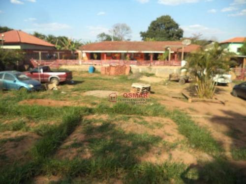 Imagem 1 de 30 de Chácara Com 3 Dormitórios À Venda, 1500 M² Por R$ 600.000,00 - Chácara Recreio Alvorada - Hortolândia/sp - Ch0008
