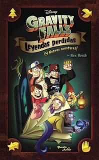 Libro Gravity Falls Leyendas Perdidas De Disney