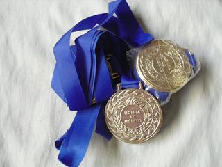 10 Medalhas Honra Ao Mérito 36mm Com Fita