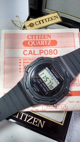 Citizen P080 Zero Com Manual - Raríssimo - Liquid. Janeiro