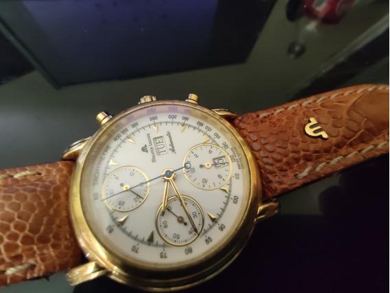 Relógio Maurice Lacroix Chrono 39701 Vintage Valjoux 7750