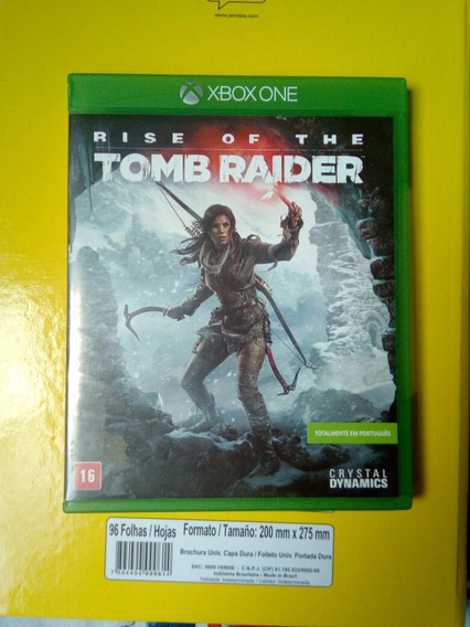 Rise Of The Tomb Rider Xbox One
