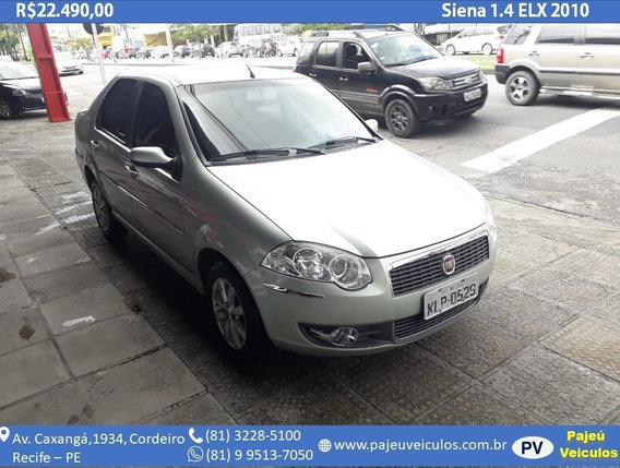 Fiat Siena 1.4 Mpi Elx 8v Flex 4p Manual
