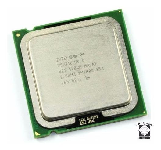 Processador Intel Pentium D 820 2,80ghz Socket 775