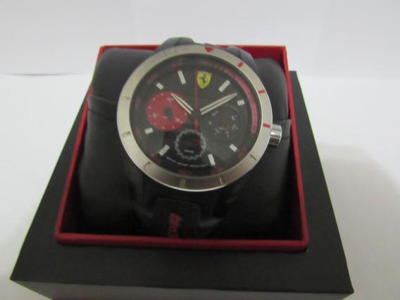 Relógio Ferrari Scuderia Semi Novo Impecável E Completo