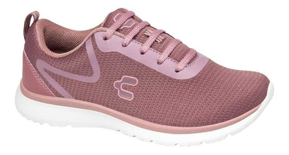 Tenis Charly Mujer Running Lila Originales Deporte Casual