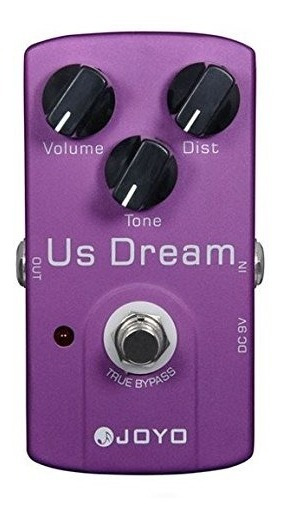 Pedal Guitarra Joyo Us Dream Overdrive Distortion + Nf + Garantia