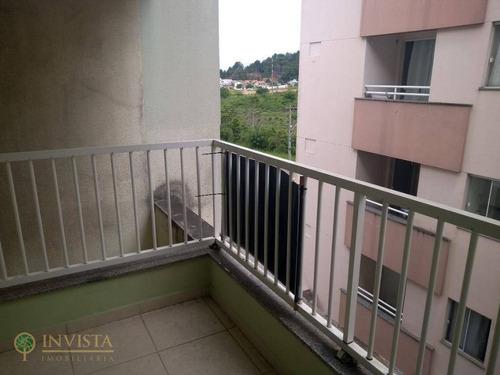Imagem 1 de 23 de Apartamento Com 2 Dormitórios À Venda, 64 M² Por R$ 250.000,00 - Cidade Universitária Pedra Branca - Palhoça/sc - Ap5676