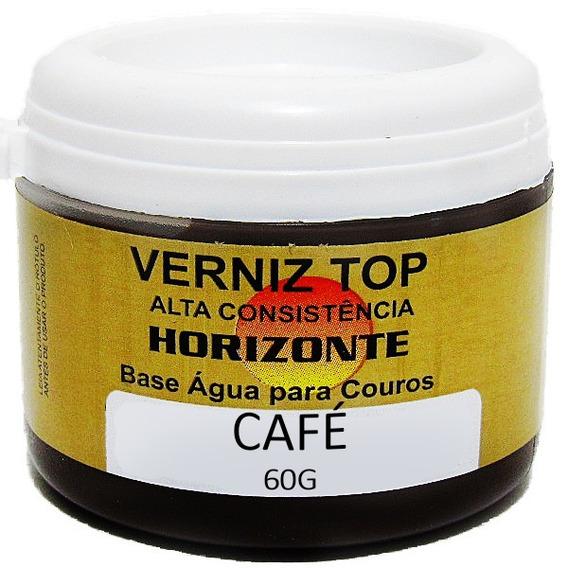 Graxa Sapato Cafe Cera Creme Couro Tenis Bota Coturno 60g