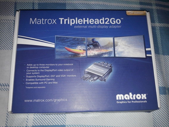 Matrox Triplehead2go Dp Edition Triplehead Display Port
