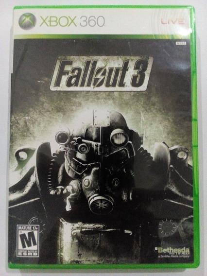 Fallout 3 + Brinde P/ Xbox 360 Original Frete Cr$14
