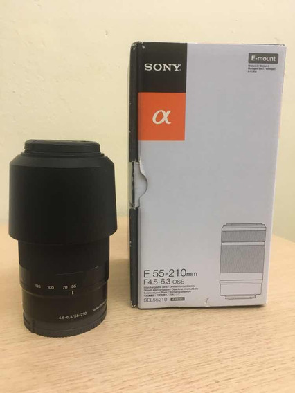 Lente Sony Sel 55 210 E 4.5 6.3
