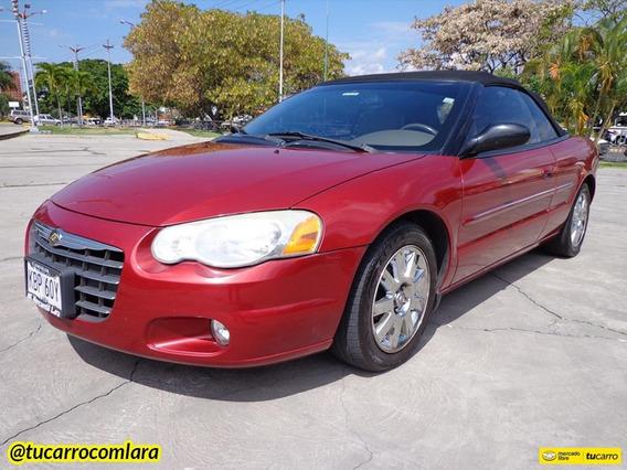 Chrysler Sebring Limited Descapotable