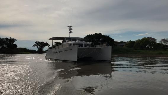 Catamaran 12m X 5m X 1,75m 2 X 140hp - German Frers