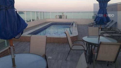 Apartamento Com 2 Dormitórios À Venda, 86 M² Por R$ 350.000,00 - Vila Guilhermina - Praia Grande/sp - Ap3351