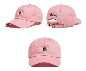 Boné The Hundred Aba Curva Rose Dad Hat Pronta Entrega Bege
