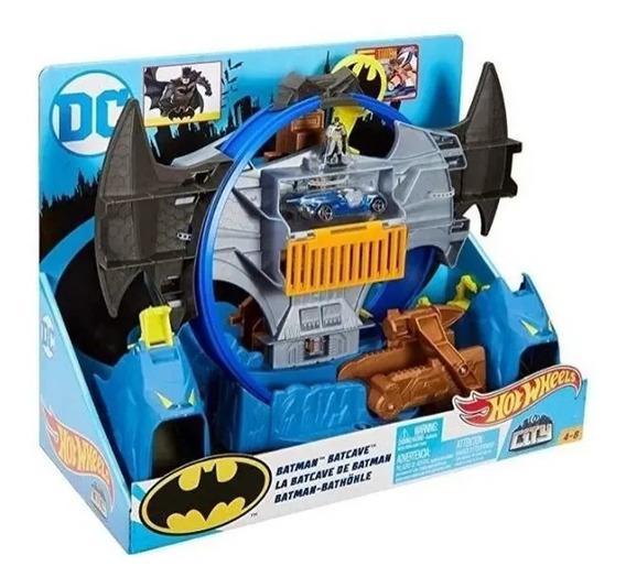 Batman Pista Batcaverna Hotwheels - Mattel - Bonellihq B19