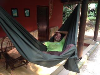 Hamaca De Camping De Tela De Manta Con Funda Incorporada