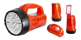Holofote/lanterna Recarregavel 23 + Desklamp 16 Led Albatroz
