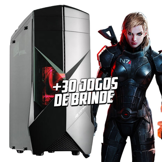Cpu Gamer Asus/ Core I5 7400/ 16gb Ddr4/ Ssd240/ Gtx1050 4gb