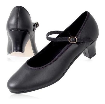 Sapato Em Couro Dança Salão - Capezio Ref 30n - Tam 34 A 39