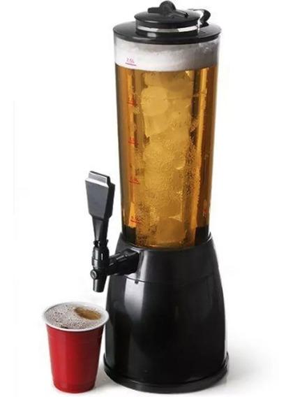 Chopera Cerveza Fernet 2.5 Lts Tubo Enfriador Base Giratoria