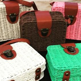 Bolsa Maleta Moda Blogueira Verão 2018 - Promoção