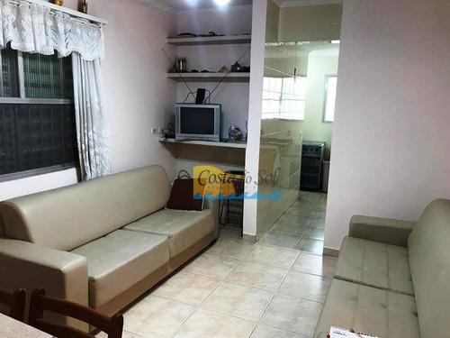 Imagem 1 de 18 de Apartamento Com 2 Dormitórios À Venda, 65 M² Por R$ 250.000,00 - Canto Do Forte - Praia Grande/sp - Ap15763