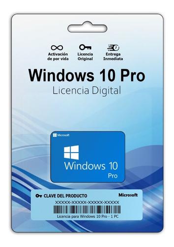 Licencias Originales Para_windows 7 O 10 Pro 32/64 Bits 1 Pc