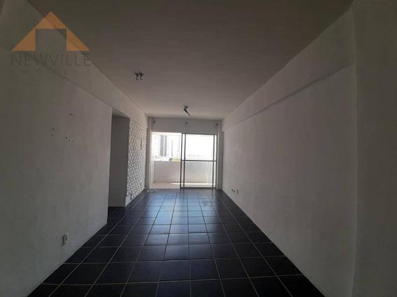Apartamento Com 2 Quartos, 69 M² - Venda Por R$ 249.999 Ou Aluguel Por R$ 1.724/mês - Boa Viagem - Recife/pe - Ap1221
