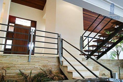 Casa, 576 M² - Venda Por R$ 2.900.000,00 Ou Aluguel Por R$ 11.000,00/mês - Barão Geraldo - Campinas/sp - Ca1295