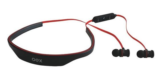 Fone De Ouvido Bluetooth Headset Live Preto Hands Free Oex
