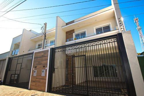 Imagem 1 de 19 de Sobrado Com 3 Dormitórios À Venda, 132 M² Por R$ 589.000,00 - Vila Yolanda - Foz Do Iguaçu/pr - So0119