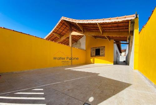 Imagem 1 de 3 de Casa A Venda No Bairro Balneário Anchieta Em Mongaguá - Sp.  - Wcc372-1