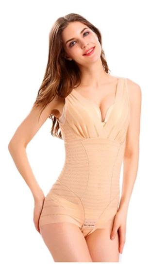 Lenceria Faja Camiseta Compresion En Cintura Body Mujer