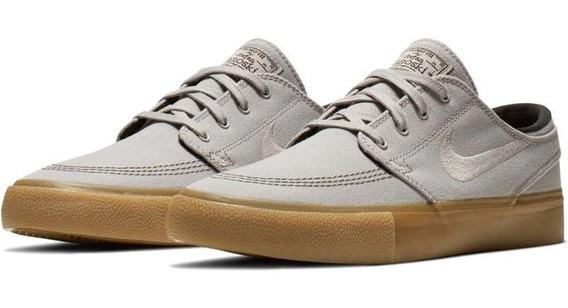 Zapatillas Nike Sb Janoski Tela Suela Marron 100% Original