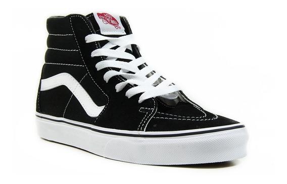Tênis Vans Ua Sk8-hi Black/white Vn000d51b8c 13081 Original