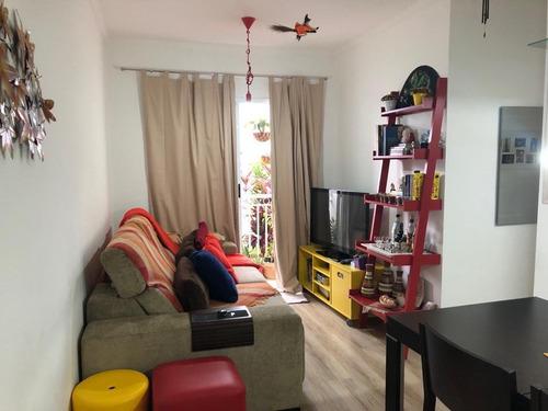 Imagem 1 de 16 de Apartamento Com 3 Dormitórios À Venda, 60 M² Por R$ 355.000,00 - Jardim Santa Genebra - Campinas/sp - Ap17680