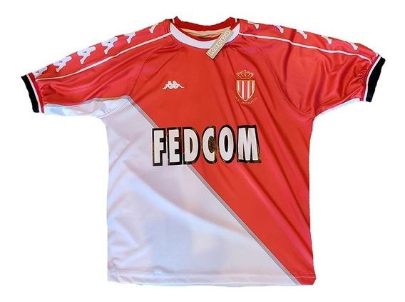 Camiseta Del Mónaco Kappa 1999-2000 #10 Gallardo