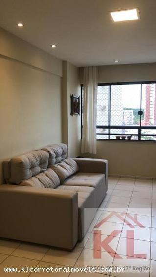 Apartamento Para Venda Em Natal, Capim Macio, 2 Dormitórios, 1 Suíte, 2 Banheiros, 1 Vaga - Ka 0886