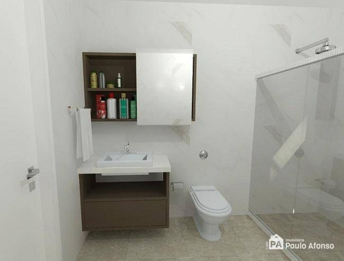 Apartamento Com 2 Dormitórios À Venda, 53 M² Por R$ 180.000,00 - Jardim Bandeirantes - Poços De Caldas/mg - Ap0823