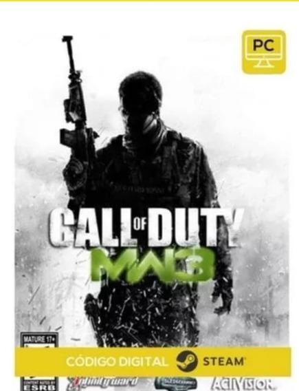 Call Of Duty Modern Warfare 3 Pc Steam Key Envio Já