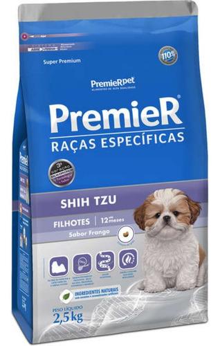 Premier Raças Específicas Shih Tzu Ração Para Filhote 2,5kg