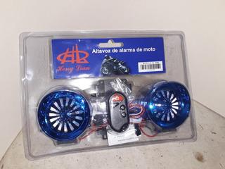 Alarma De Motocicleta Con Bluetooth Y Bocinas