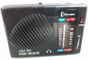 Rádio Diplomat (verão 90) C/am/fm (ideal Pro Jogo- Som Alto)