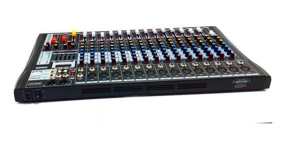Mesa De Som Bluetooth Usb Mixer Mp3 Digital 16 Canais Nf