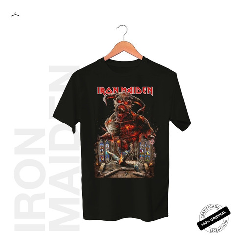 Camiseta Oficial Iron Maiden Legacy Of The Beast Tour 2019