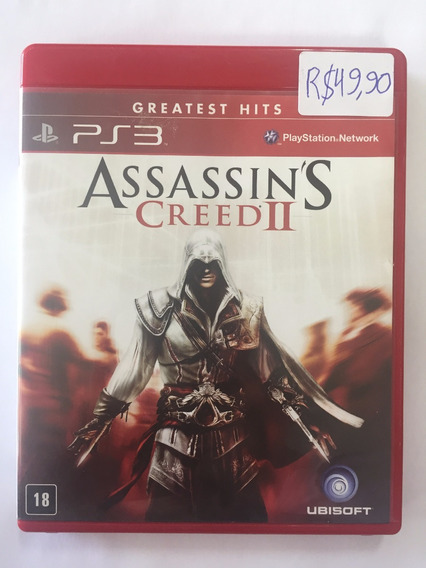 Assassin´s Creed 2 Ps3 Mídia Física